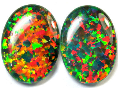 12.7 Cts Manmade synthetic Opal    code RN 1281
