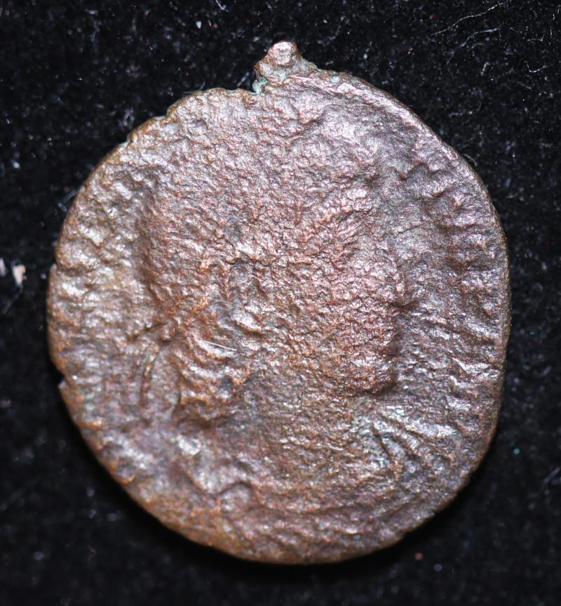 330 AD + Roman Byzantine large Bronze Follis Coin. code CP 648