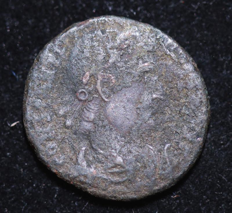 Ancient Roman  Byzantine Bronze   AE Coin   CP 687