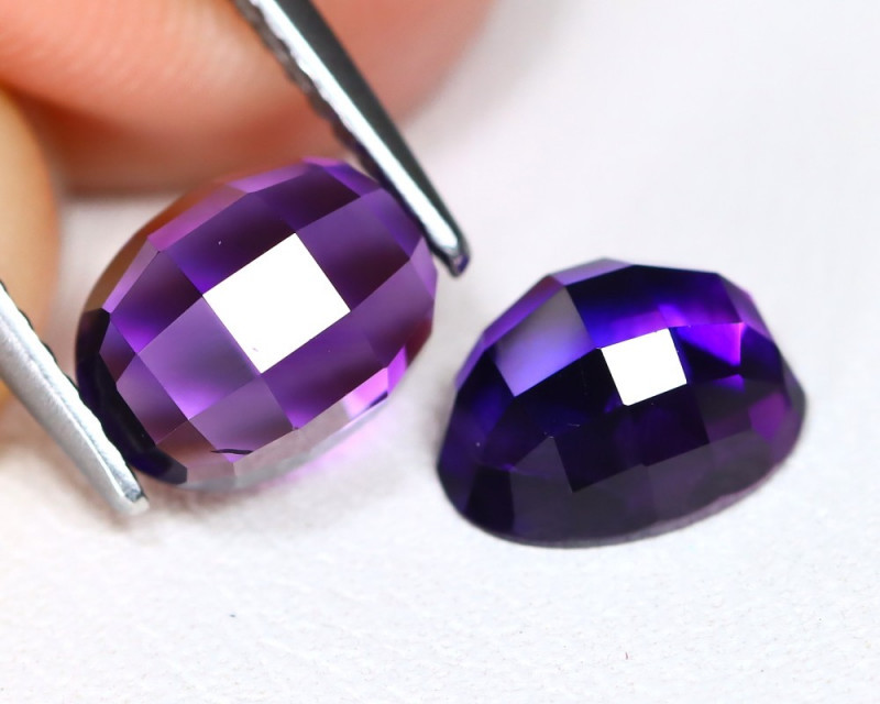 3.09 Cts Parcel of  Pixaleted Purple Amethyst  CCC 369