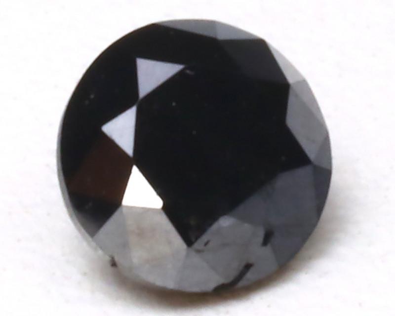 0.45 Ct Brilliant Black Diamond  CCC 407
