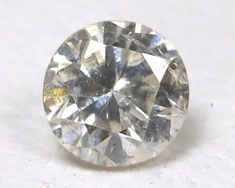 0.10 Ct White Fancy Diamond  CCC 413