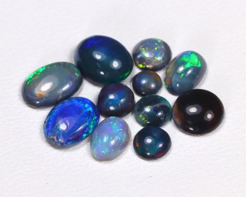2.64Cts Parcel of 11   Australian  Black Opal  CCC 421