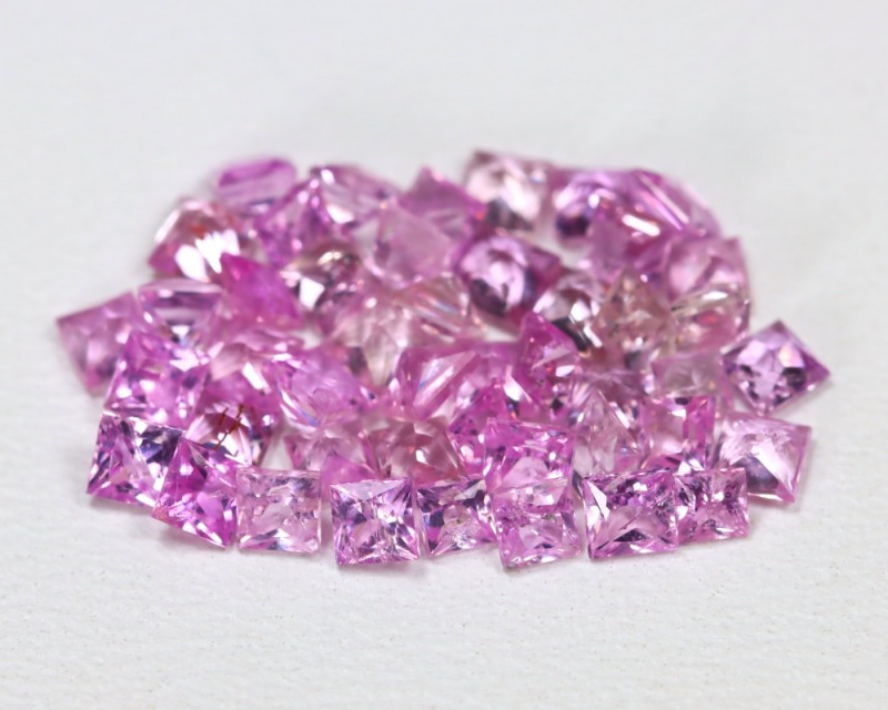 3.88 Cts 2.3mm Pink Sapphire CCC 497