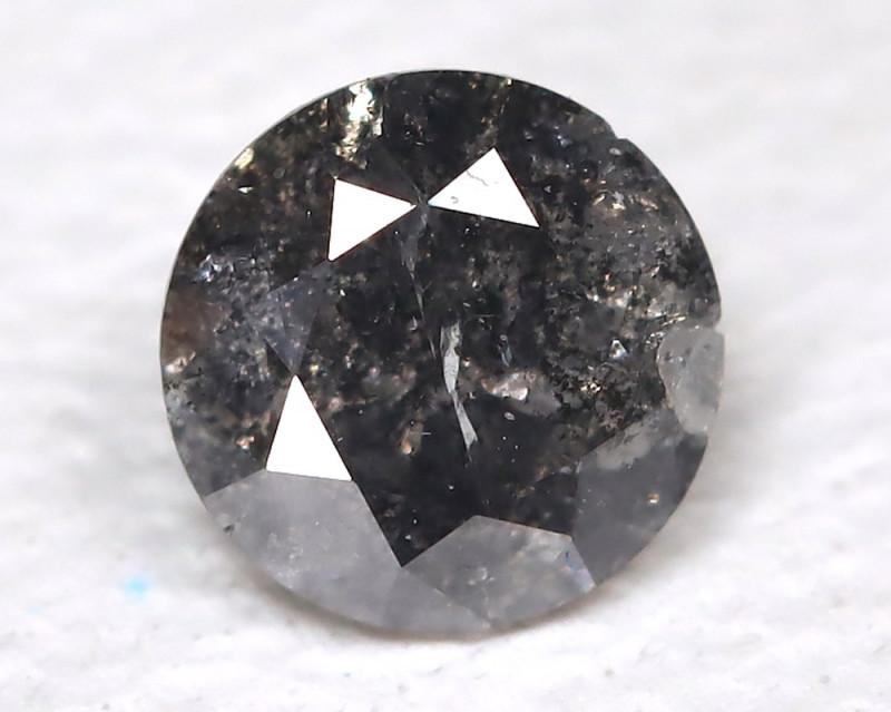 0.15 Ct Salt and Pepper Diamond  CC 531