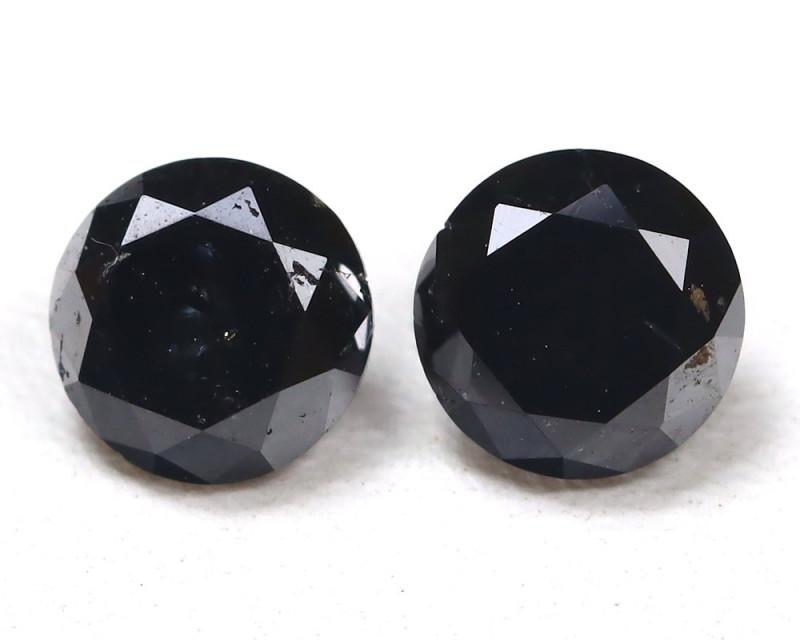 0.68 Ct Fancy Black Diamond  CCC 545