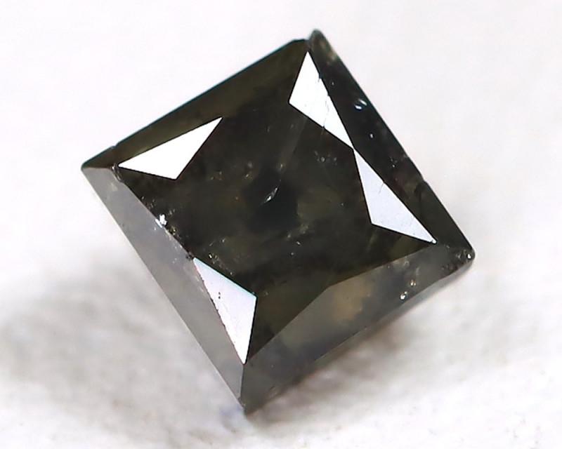 0.28 Ct Fancy Black Diamond   CCC 546