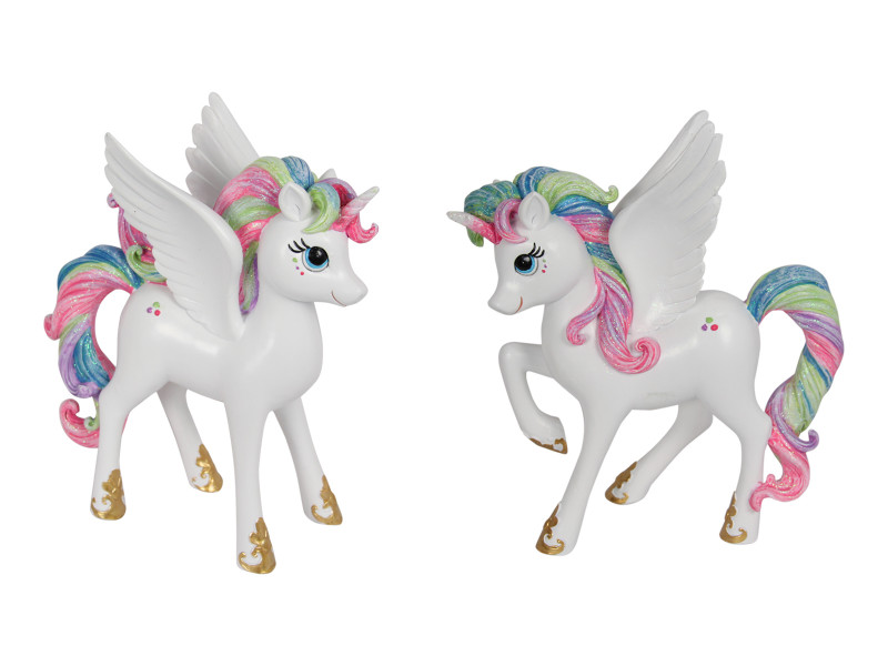 Treasure Box of Rainbow Unicorn Pegasus 2pcs Code UNIRSTL