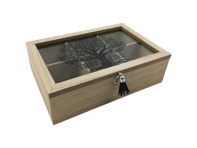 Jewellery Tree Of Life Box 2pcs Code BOXTREED