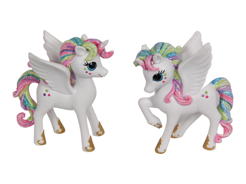 Treasure Box of Rainbow Unicorn Pegasus 6pcs Code UNIRSTS