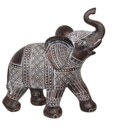 Large Tribal Pattern Elephant Syncophated 1pc Code ELESYNST