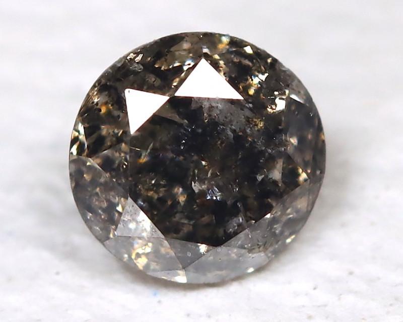 0.16 Ct Salt and Pepper Diamond  CCC 605