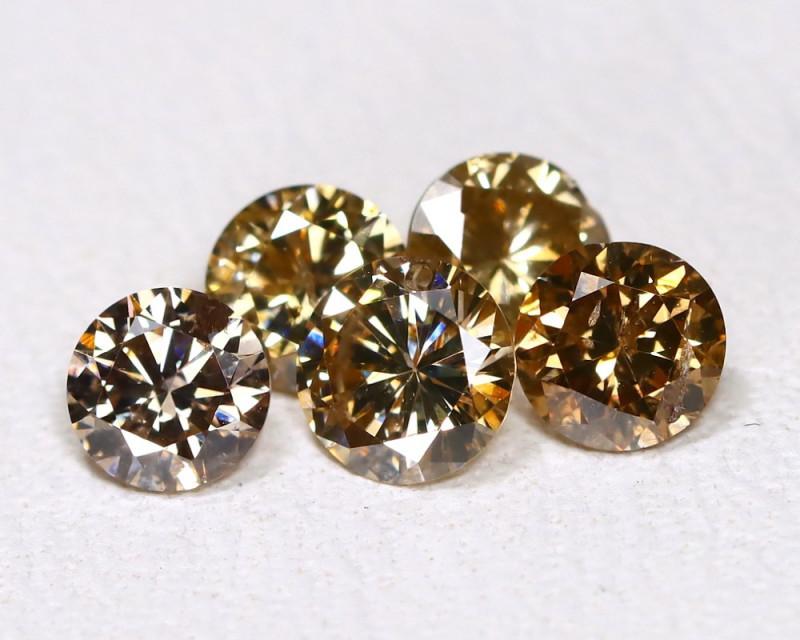 1.03Ct Champagne Diamond  CCC 606