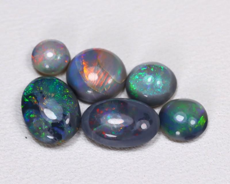 2.17Cts  Parcel Aussie Black  Opals    code CCC 666