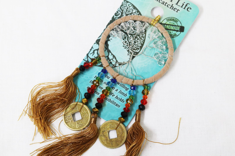 Bronze Tree of Life Lucky Sun Catcher Code TOLSUNC