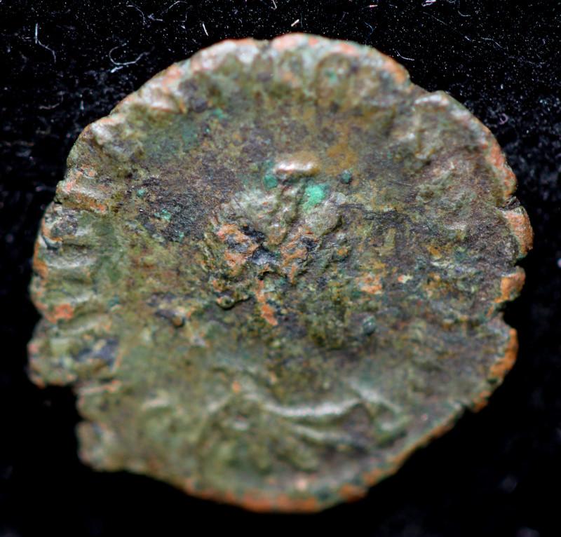 Original as found, Ancient Roman coin   CCC942