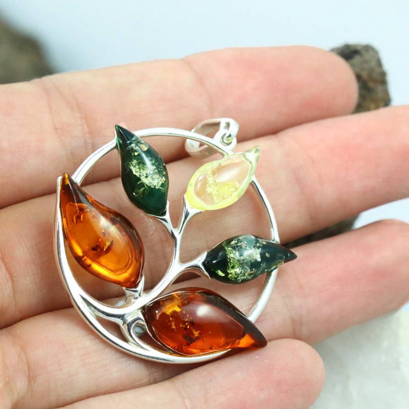 Baltic Amber Pendant , direct from Poland RN246