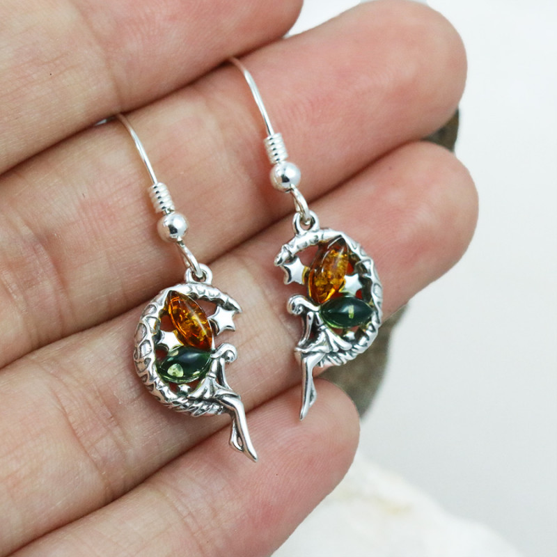 Baltic Amber Earring, direct from Poland RN327