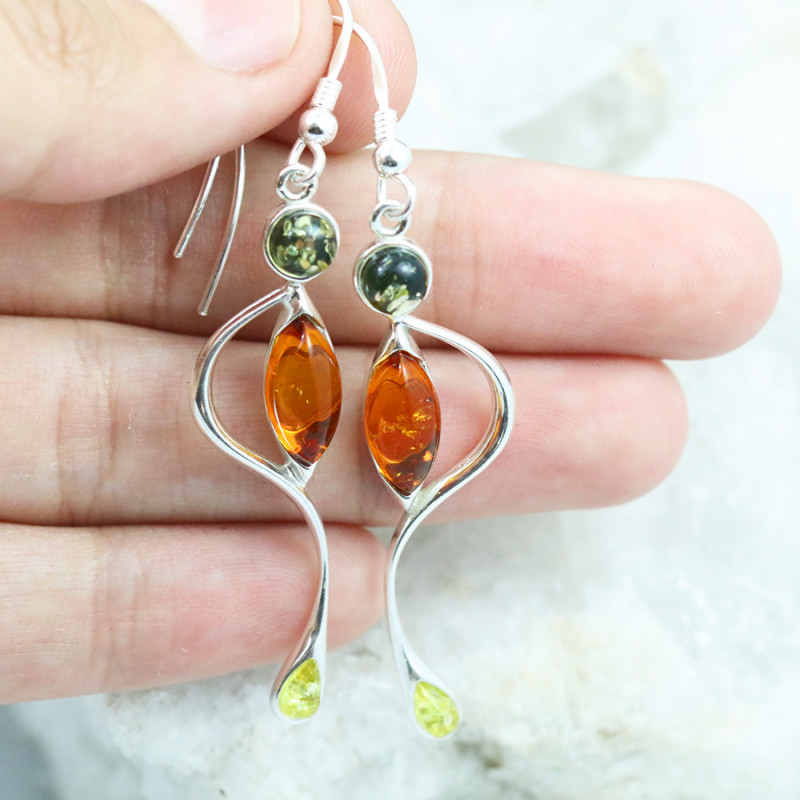 Baltic Amber Earring, direct from Poland RN372