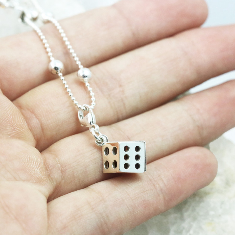 Baltic Amber Dice   Charm , direct from Poland RN396