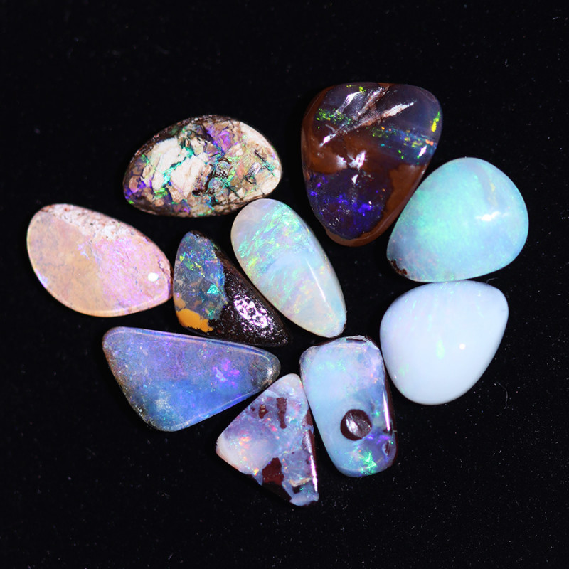 8.65Cts   parcel 10  Australian  Boulder  Opal  CCC 913
