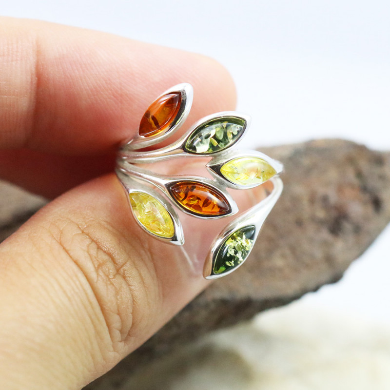 Baltic Amber Ring, direct from Poland RN455