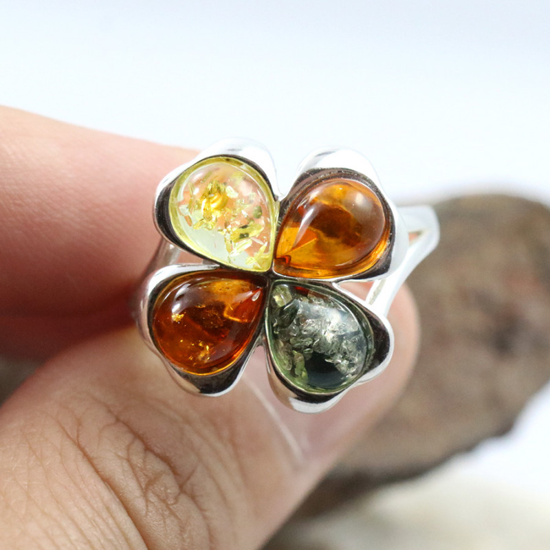 Baltic Amber Ring, direct from Poland SIZE 10 RN485