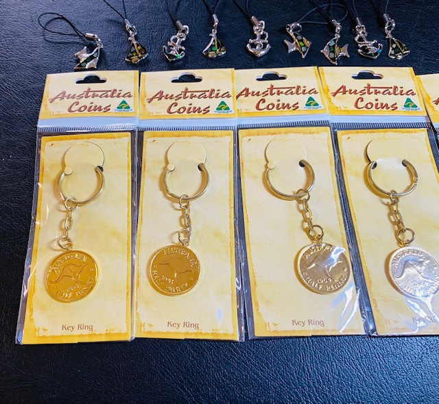 Aussie Key Chains Parcel  17 Pieces CCC