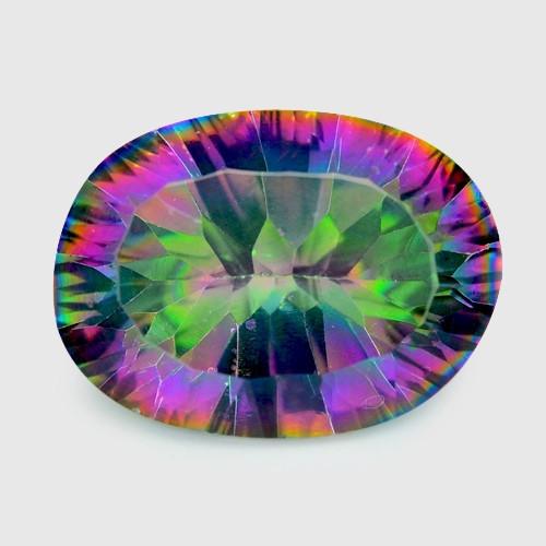 Mystic Quartz 4.73 Cts Rainbow Color Natural Gemstone