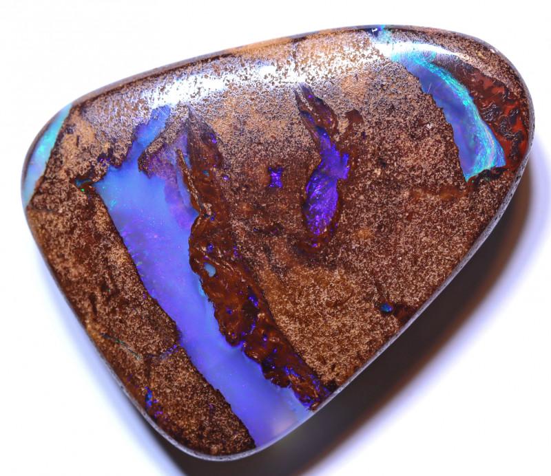 36.93 carats Boulder  Pipe Opal Cut Stone ANO-2619