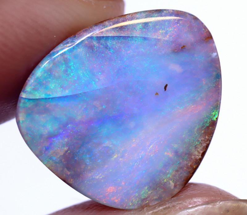 10.85 carats Boulder  Pipe Opal Cut Stone ANO-2641