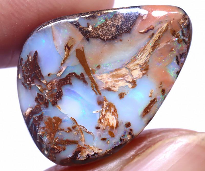 22.5 carats Boulder  Pipe Opal Cut Stone ANO-2647