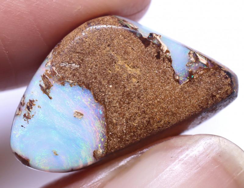 12.02 carats Boulder  Pipe Opal Cut Stone ANO-2652
