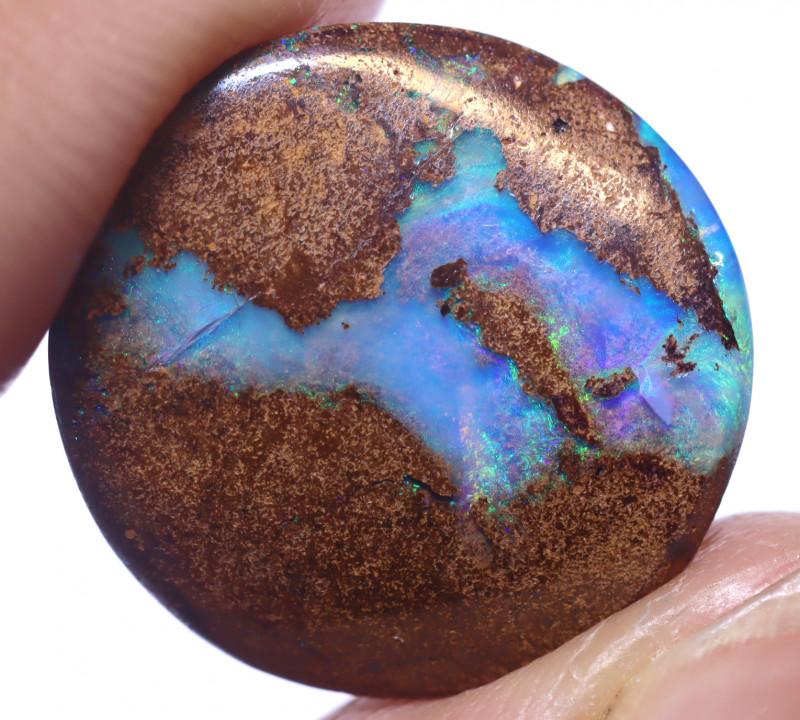 9.21 carats Boulder  Pipe Opal Cut Stone ANO-2654