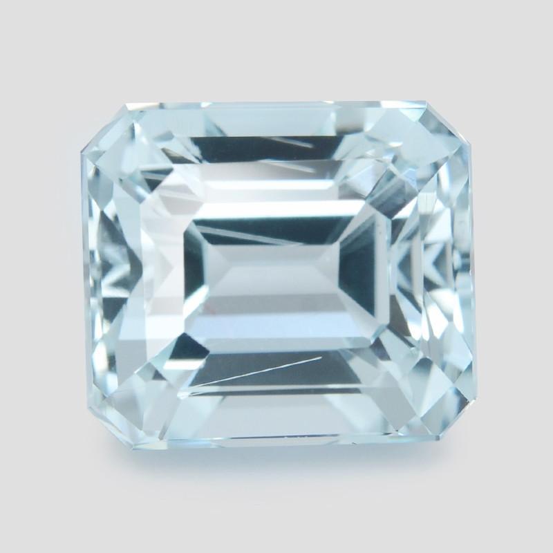 Aquamarine 3.17 Cts Un Heated Blue Natural Gemstone