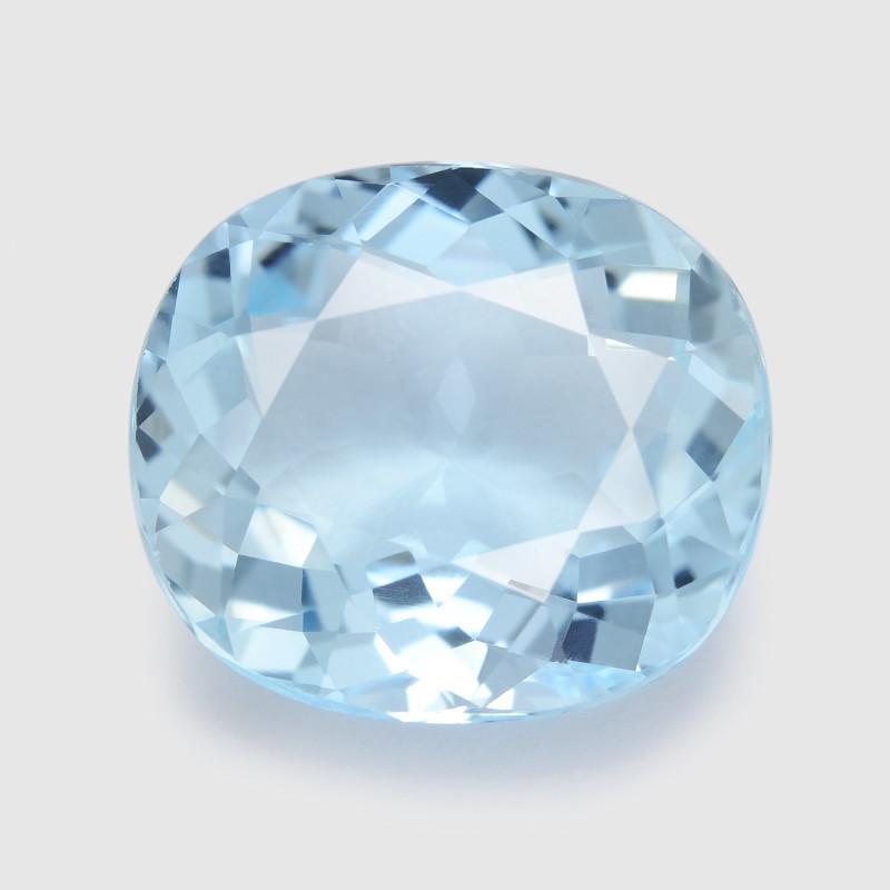 Aquamarine 5.01Cts Unheated Blue Natural Gemstone
