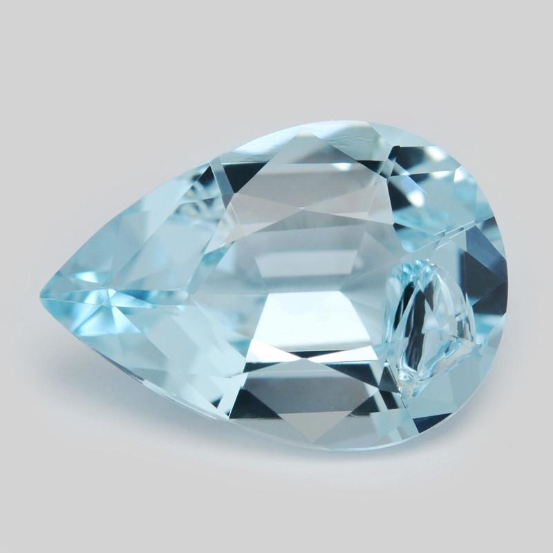 Aquamarine 3.22 Cts Un Heated Blue Natural Gemstone