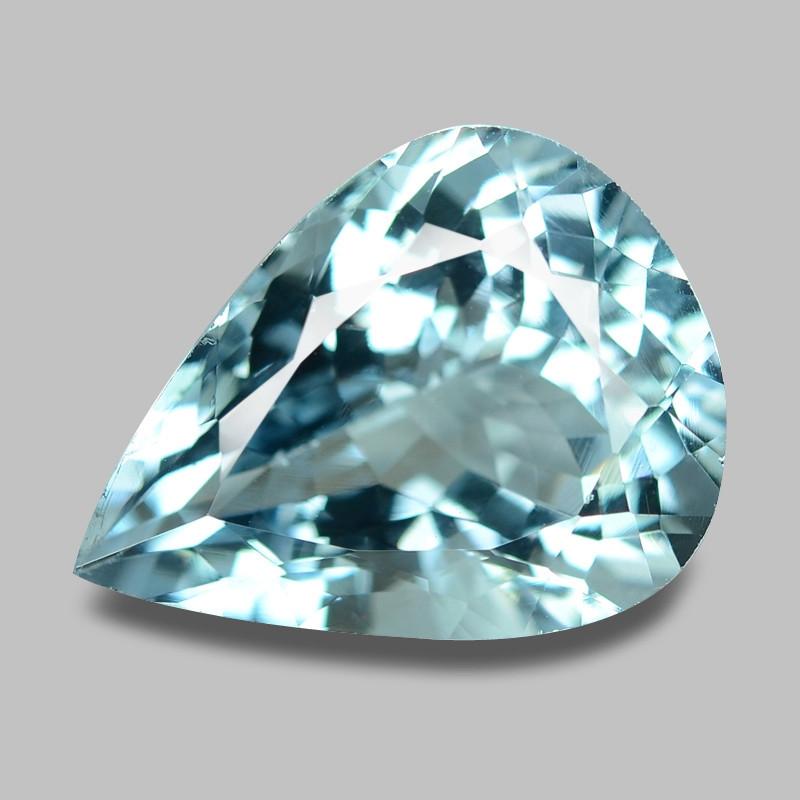Aquamarine 6.67 Cts Unheated Sky Blue Color Natural Gemstone