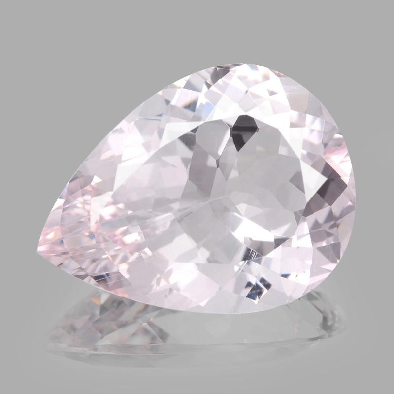 Morganite 12.31 Cts Amazing Rare Natural Pink Color Gemstone