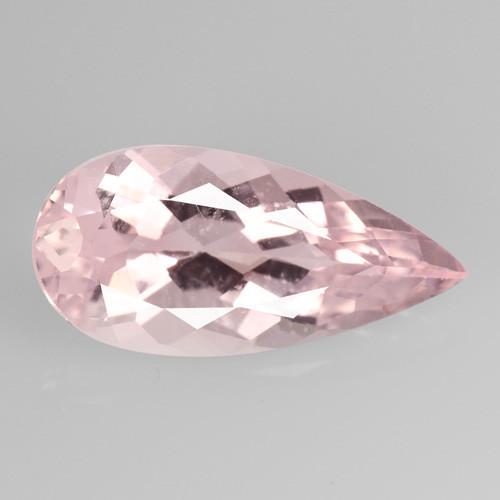 Morganite 2.99 Cts Rare Natural Top Pink Color Gemstone