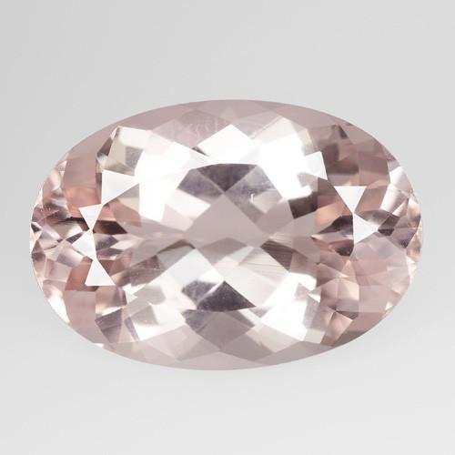 Morganite 18.75 Cts Amazing Rare Natural Pink Color Gemstone
