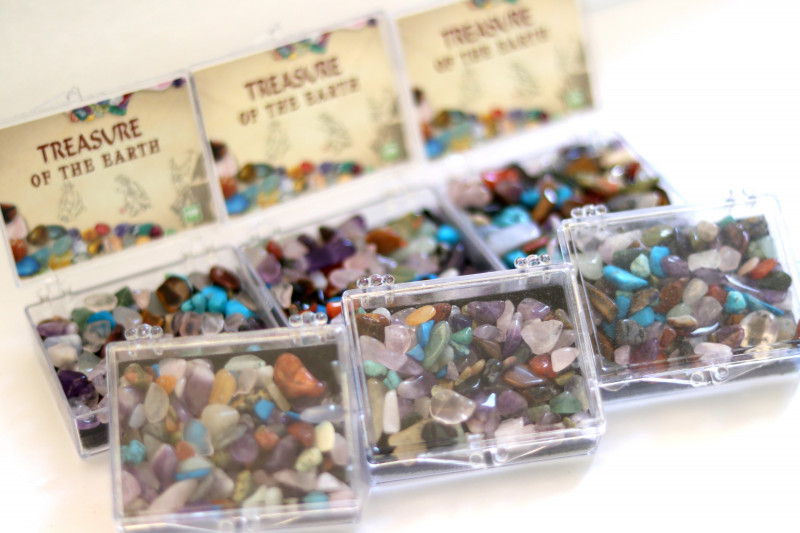 Six Sets Treasure Of The Earth Tumbled Stones AHA 856