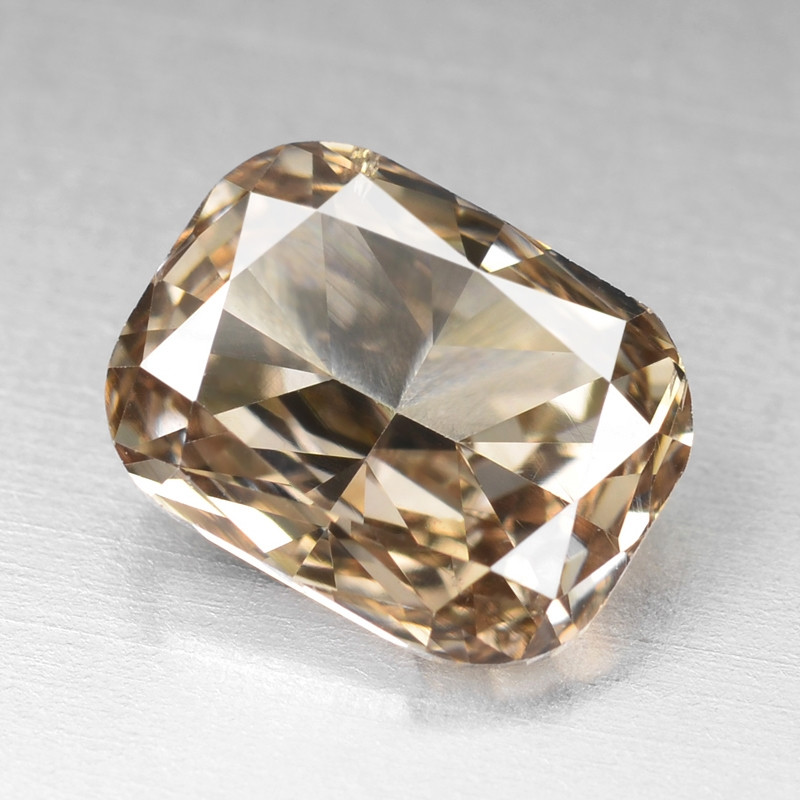 Diamond 1.03 Cts Sparkling Rare Fancy Pinkish Brown  Color Natural
