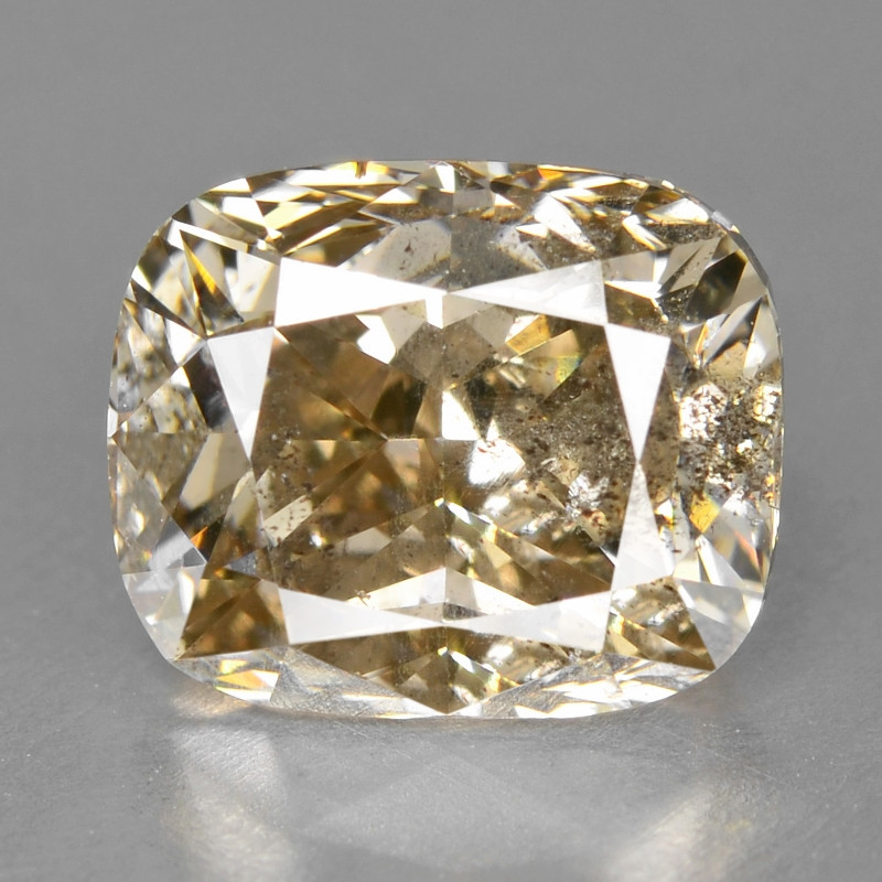 Diamond 2.00 Cts Sparkling Rare Fancy Pinkish Brown Color Natural