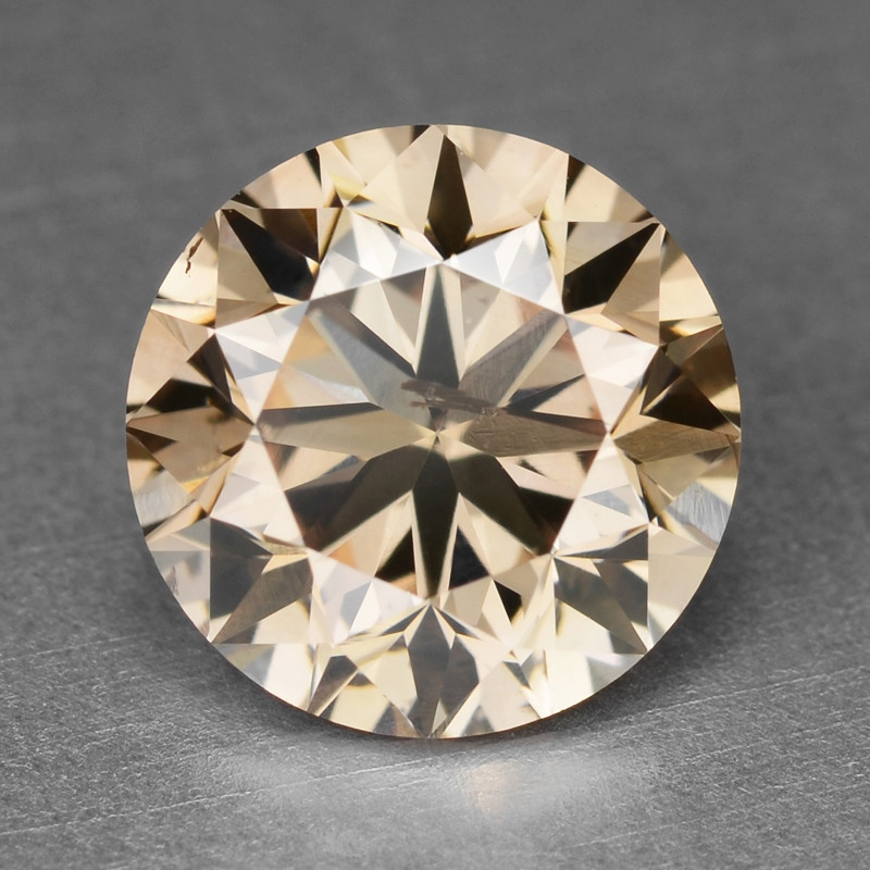 Diamond 1.00 Cts Sparkling Fancy Pinkish Brown Natural