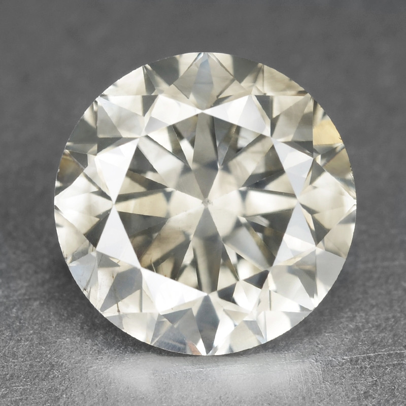 Diamond 0.90 Cts Sparkling Fancy Silver Grey Natural