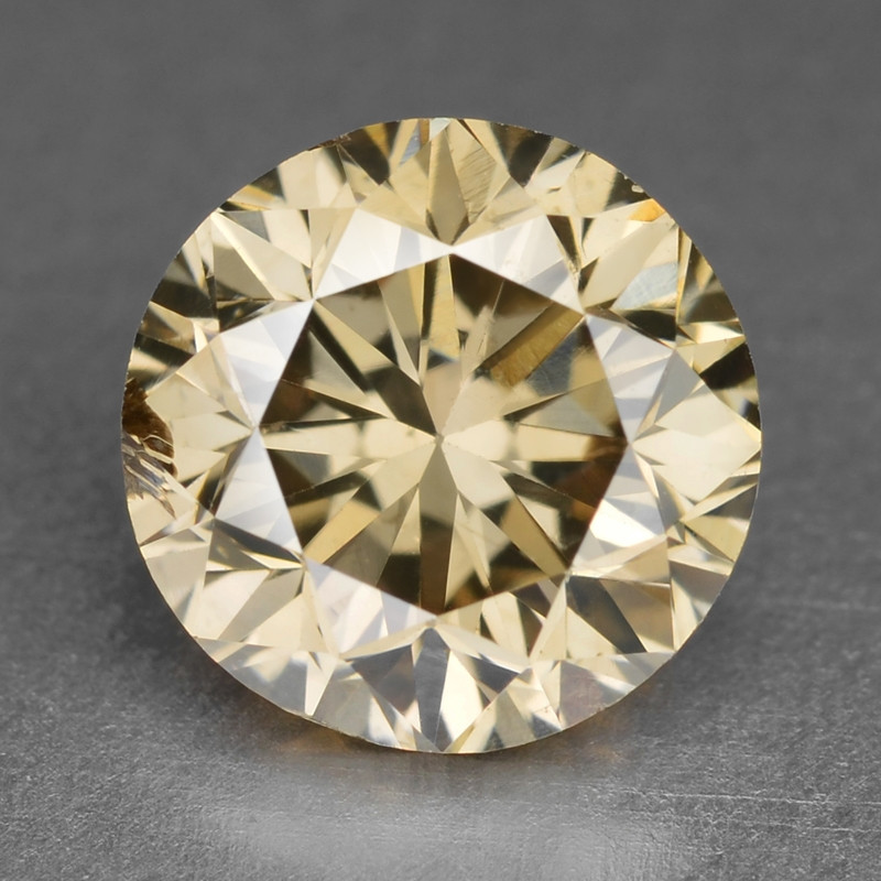 Diamond 1.04 Cts Sparkling Rare Fancy Pinkish Brown Color Natural