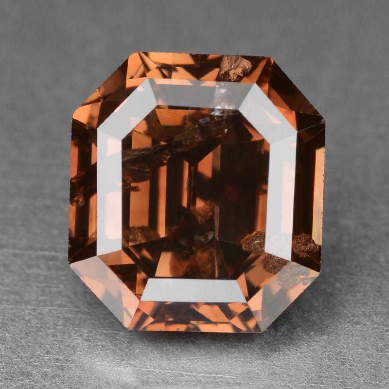Diamond 1.08 Cts Sparkling Natural Fancy Deep Intense Pinkish Purple Color