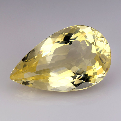 7.97Ct Natural Heliodor AAA Grade Top Quality Gemstone. HD 02