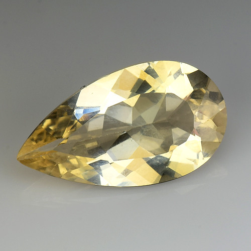 2.94Ct Natural Heliodor AAA Grade Top Quality Gemstone. HD 06